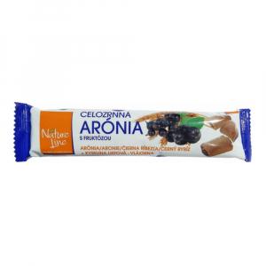 NATURE LINE Aronie celozrnné sušenky 65 g