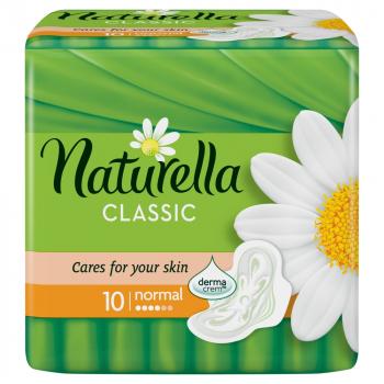 NATURELLA Classic Camomile Normal Hygienické vložky 10 ks