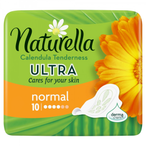 NATURELLA Ultra Calendula Tenderness Normal Hygienické vložky 10 ks
