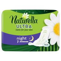 NATURELLA Ultra Camomile Night Hygienické vložky 7ks