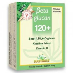 NATURES Beta Glucan 120+ 30 tobolek