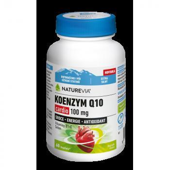 NATUREVIA Koenzym Q10 Cardio 100 mg 60 kapslí