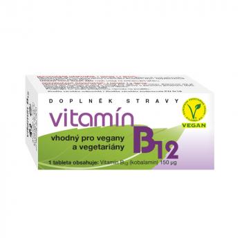 NATURVITA Vitamín B12 60 tablet
