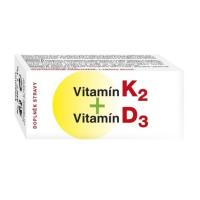 NATURVITA Vitamín K2 a vitamín D3 60 tablet