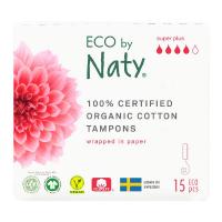 ECO BY NATY Tampóny Super plus 15 ks
