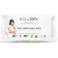 NATY Dětské vlhčené hygienické ubrousky 56 ks