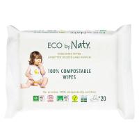 NATY Dětské vlhčené hygienické ubrousky 20 ks