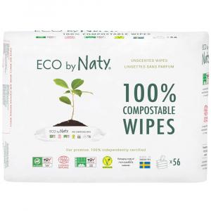 NATY Dětské vlhčené hygienické ubrousky Economy pack 3x 56 ks