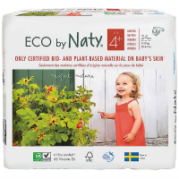 NATY Ekoplenky Maxi+ 4+ (9-20 kg) 24 ks