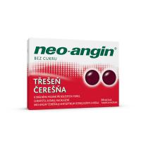 NEO-ANGIN Bez cukru třešeň rozpustné pastilky ústech 24 kusů
