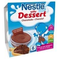 NESTLÉ Dezert přesnídávka Kakao 4x100 g