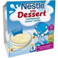 NESTLÉ Dezert přesnídávka Vanilka 4x100 g