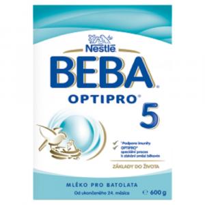 BEBA OPTIPRO® 5, instantní mléčná výživa pro malé děti, 600 g krabice (2x300 g)