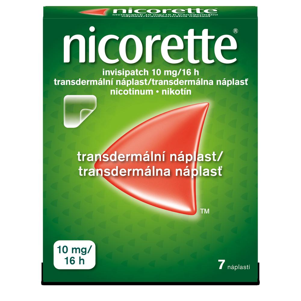 NICORETTE Invisipatch 10mg/16h náplast 7 kusů