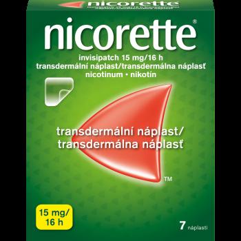 NICORETTE Invisipatch 15 mg/16 h náplast 7 kusů