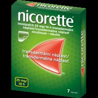 NICORETTE Invisipatch 25 mg/16 náplast 7 kusů
