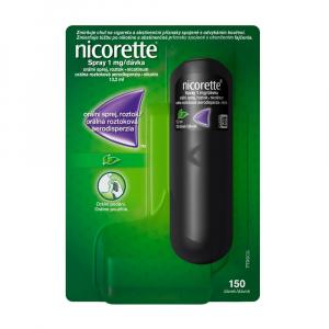 NICORETTE Ústní sprej 1 mg/dávka 150 dávek 13,2 ml