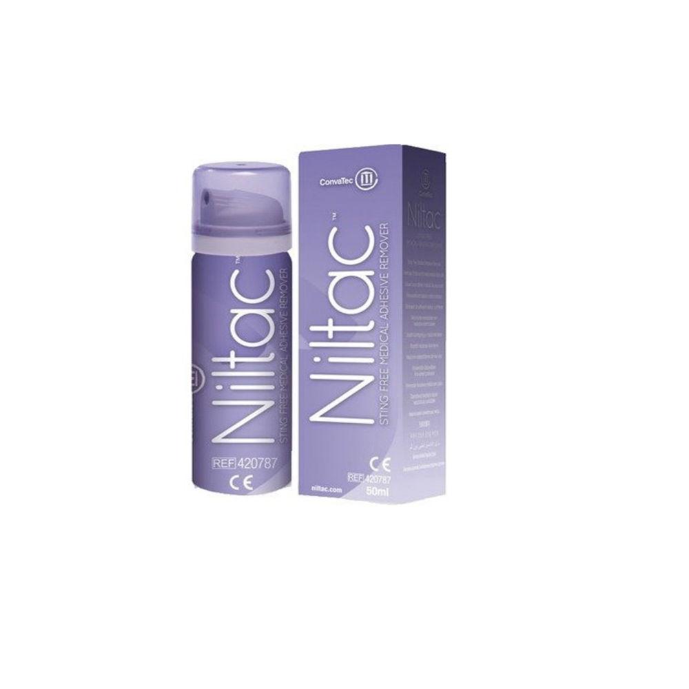 NILTAC Odstraňovač medic.adheziv sprej 50 ml