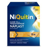 AKCE NIQUITIN Clear 14 mg 7 náplastí