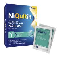 NIQUITIN Clear 21 mg 7 ks náplastí
