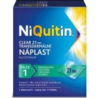 AKCE NIQUITIN Clear 21 mg 7 ks náplastí