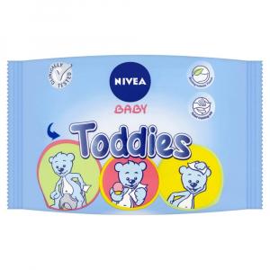 NIVEA Baby Toddies Multifunkční ubrousky 60 kusů