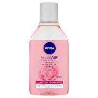 NIVEA MicellAir Dvoufázová čisticí micelární voda s růžovou vodou 400 ml