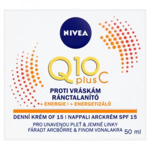 NIVEA Q10 Plus C Energizující krém proti vráskám Denní 50 ml