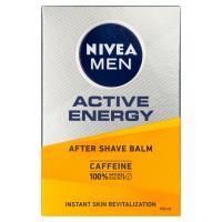NIVEA Men Active Energy Revitalizační balzám po holení 2v1 100 ml