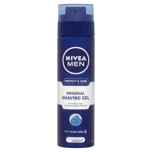 NIVEA Men Protect & Care Gel na holení 200 ml