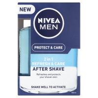 NIVEA Men Protect & Care Pečující voda po holení 2v1 100 ml