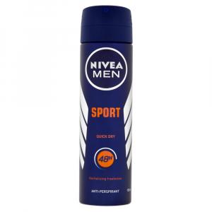 NIVEA Men Sport Sprej antiperspirant pro muže 150 ml
