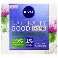 NIVEA Naturally Good  Noční krém proti vráskám 50 ml