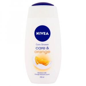 NIVEA Care & Orange Pečující sprchový gel 250 ml
