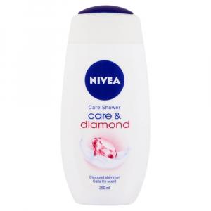 NIVEA Care & Diamond Pečující sprchový gel 250 ml