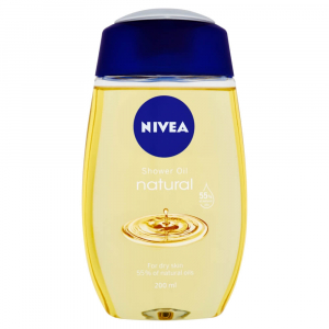 NIVEA Natural Pečující sprchový olej 200 ml