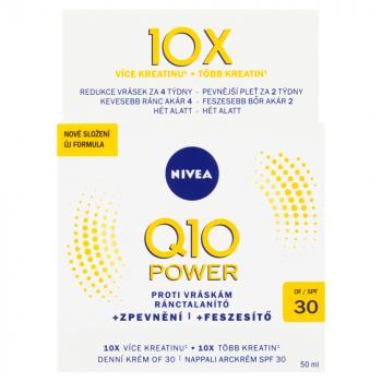 NIVEA Q10 Power Zpevňující denní krém proti vráskám OF 30 50 ml