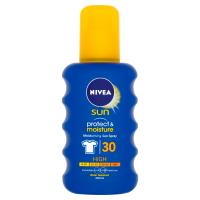 NIVEA Sun Protect&Moisture Hydratační sprej na opalování OF 30 200 ml