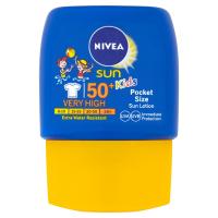 NIVEA Sun Kapesní dětské mléko na opalování OF 50+ 50 ml