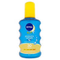 NIVEA Sun Protect & Refresh Neviditelný sprej na opalování OF 30 200 ml