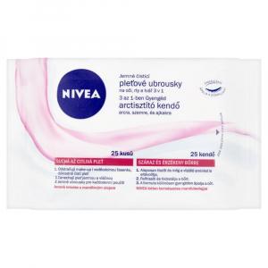 NIVEA Jemné čisticí pleťové ubrousky 3v1 25 ks
