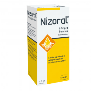 NIZORAL Šampon 20 mg 100 ml