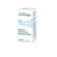 DR. SCHÜSSLERA Natrium Sulfuricum DHU D6 No.10 200tbl.