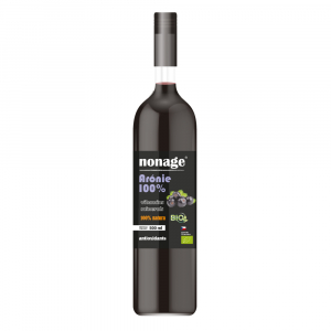 NONAGE Arónie 100% Juice BIO PREMIUM 500 ml