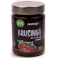 NONAGE Brusinkový ovocný džem 200 g BIO