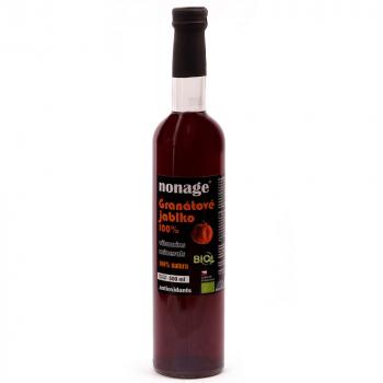 NONAGE Granátové jablko 100% juice premium 500 ml BIO