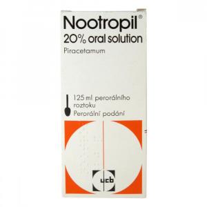 NOOTROPIL 20% ORAL SOLUTION  1X125ML Roztok
