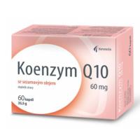 NOVENTIS Koenzym Q10 60 mg se sezamovým olejem 60 kapslí