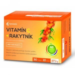 NOVENTIS Vitamín C + Rakytník 30+10 tablet