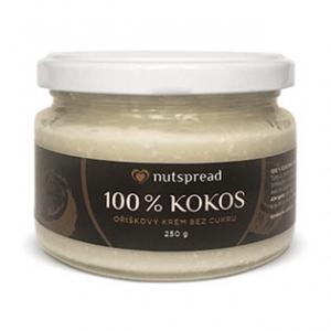 NUTSPREAD 100% Kokosové máslo křupavé 250 g